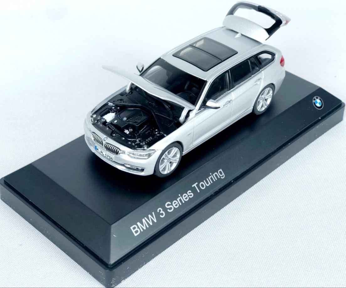 Miniatura BMW Serie 3 Touring Prata 1/43 Paragon
