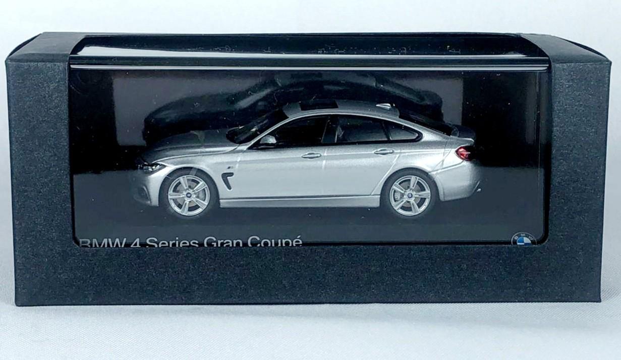 Miniatura BMW Serie 4  Gran Coupe Prata 1/43 Paragon