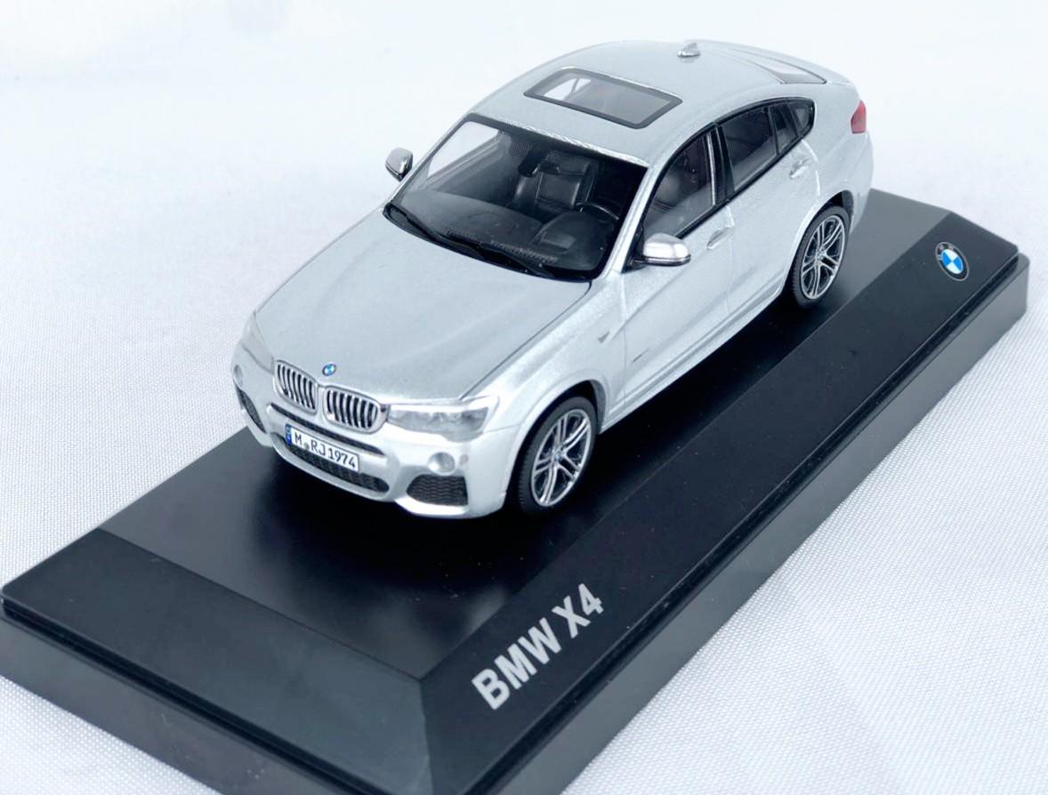 Miniatura BMW X4 Prata 1/43 Paragon