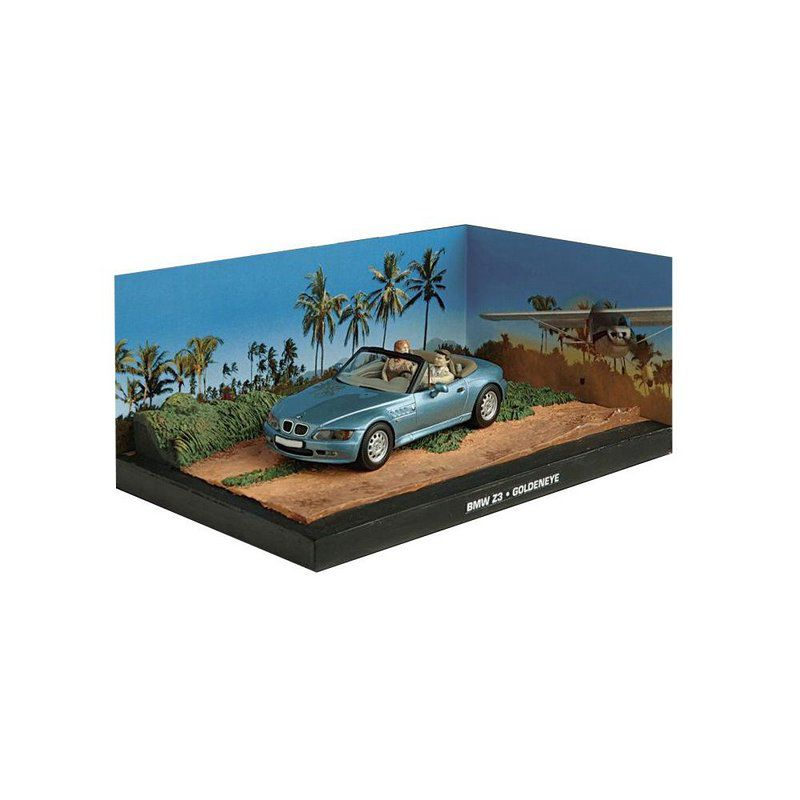Miniatura BMW Z3  – 007 James Bond Contra Goldeneye 1/43 IXO