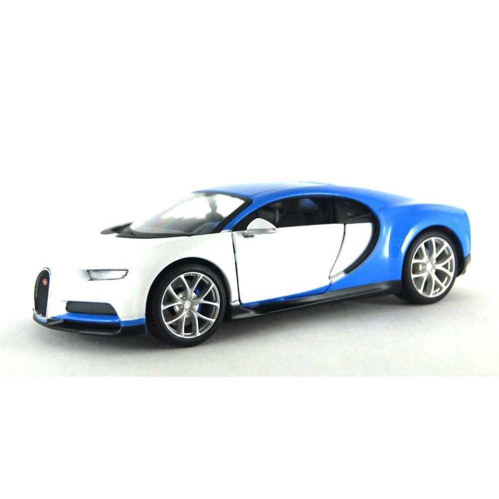Miniatura Bugatti Chiron Exotics Desegn 1/24 Maisto