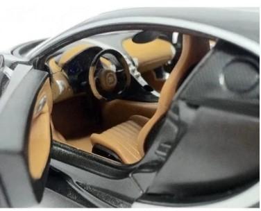 Miniatura Bugatti Chiron Cinza 1/24 Maisto
