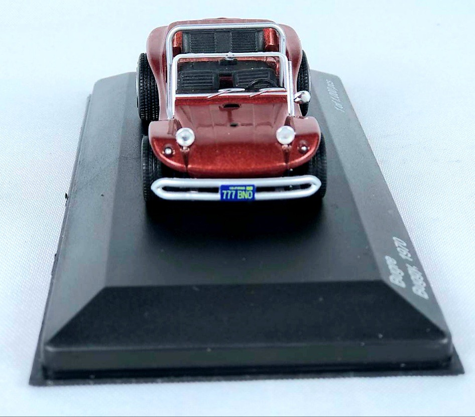 Miniatura Buggy Bugre 1970 1/43 Whitebox