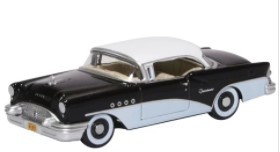 Miniatura Buick Century 1955  Black/White 1/87 Oxford