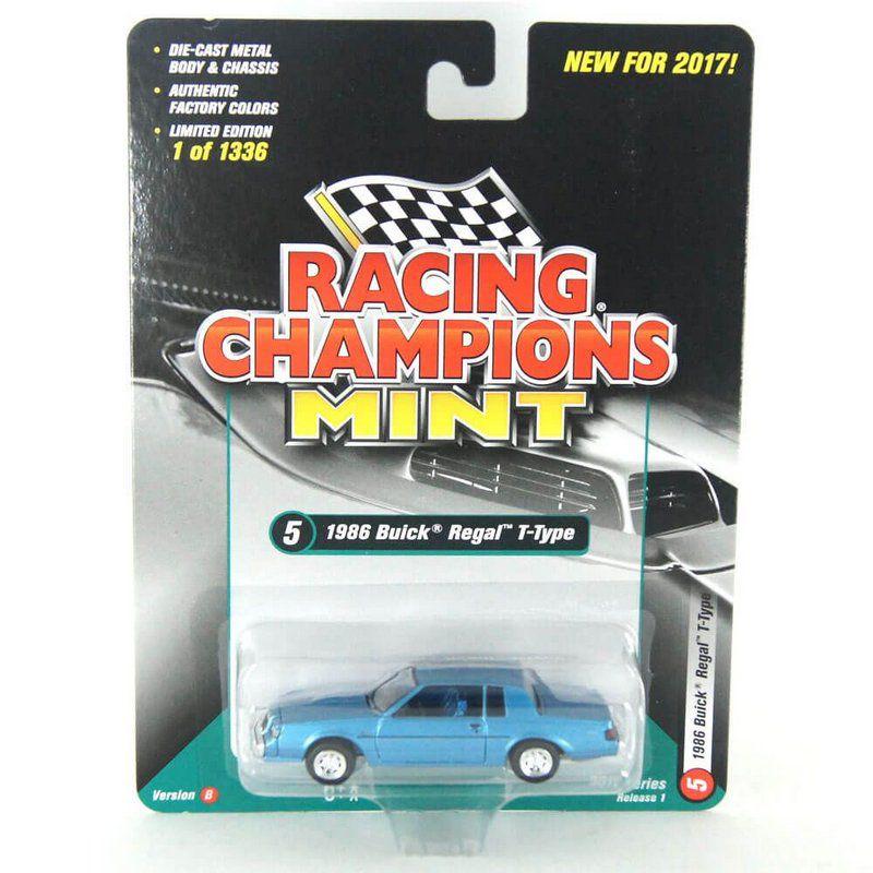 Miniatura Buick Regal T-Type 1986 B 1/64 Racing Champions