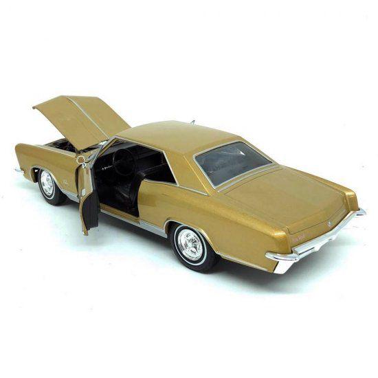 Miniatura Buick Riviera Gran Sport 1965 1/24 Welly