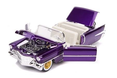 Miniatura Cadillac Eldorado 1956 Com Boneco Elvis Presley1/24 Jada Toys