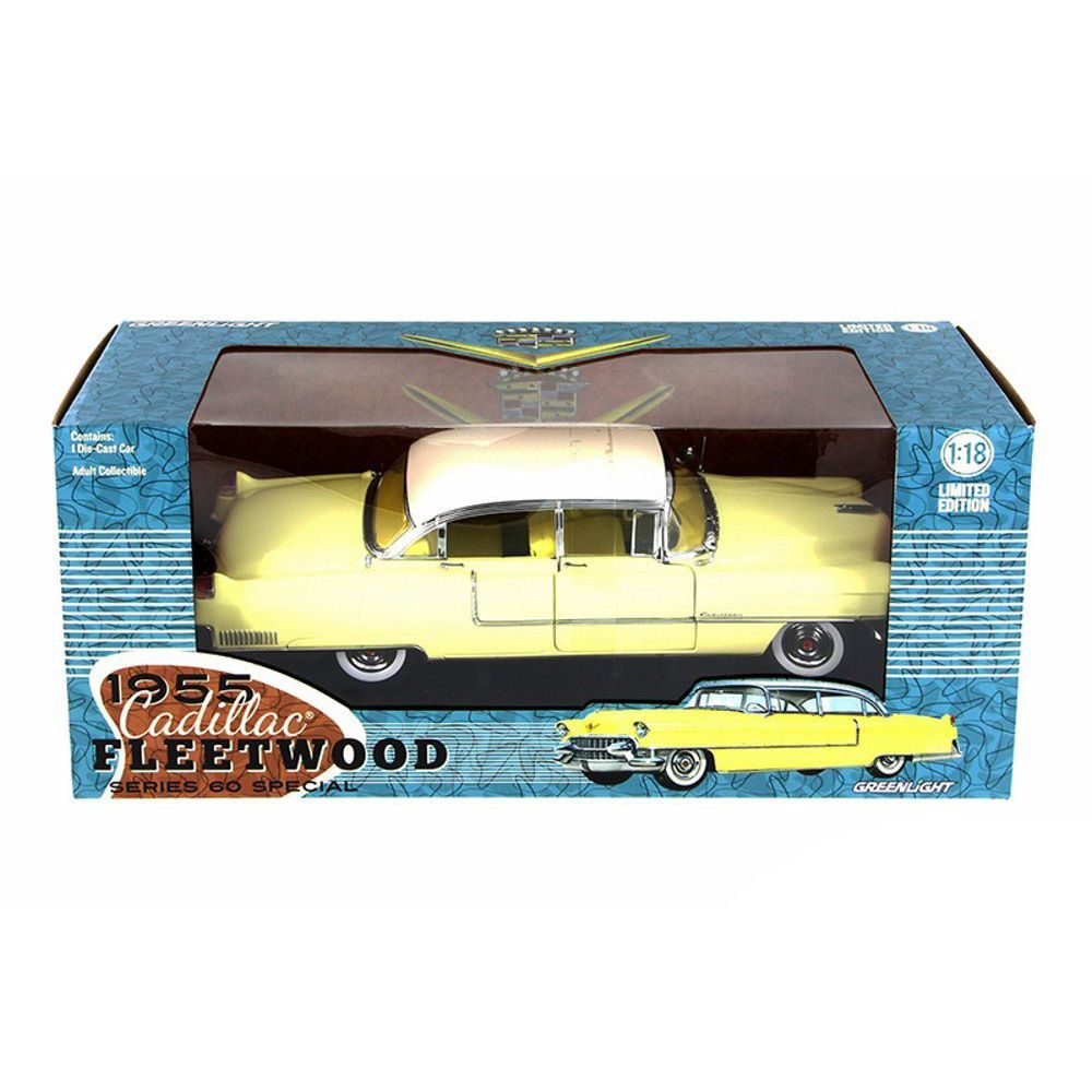 Miniatura Cadillac Fleetwood Series 60 1955 1/18 Greenlight