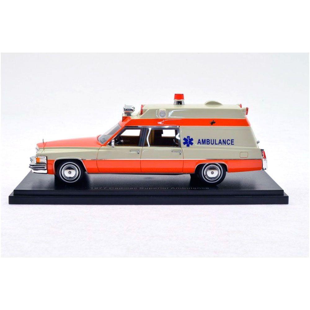 Miniatura Cadillac Superior Ambulance 1977 1/43 Neo
