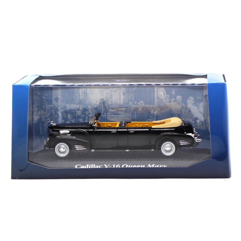 Miniatura Cadillac V 16 Queen Mary II UK Presidente Harry Truman USA 1948 1/43 Norev
