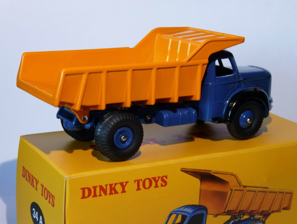 Miniatura Caminhão Basculante Berliet Benne 1/43 Dinky Toys