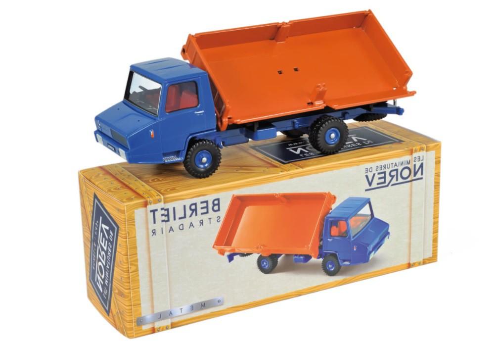 Miniatura Caminhão Basculante Berliet G.A.K 1/43 Norev