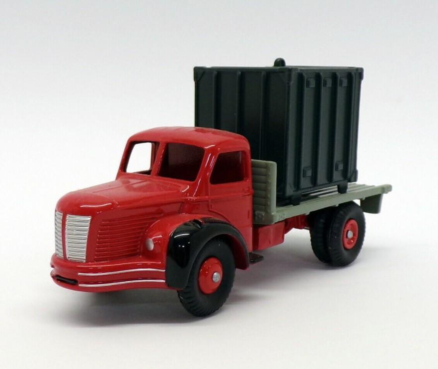 Miniatura Caminhão Berliet Avec Container 1/43 Dinky Toys
