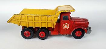 Miniatura Caminhão Caçamba Scammell Contractor N°K-19 1/64 Matchbox