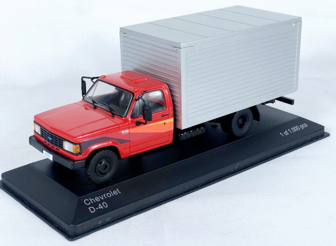 Miniatura Caminhão Chevrolet D-40 1/43 Whitebox