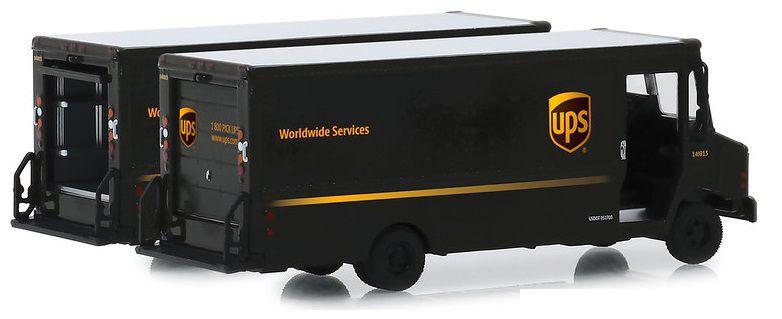 Miniatura Caminhão Delivery 2019 UPS HD Trucks 1/64 Greenlight