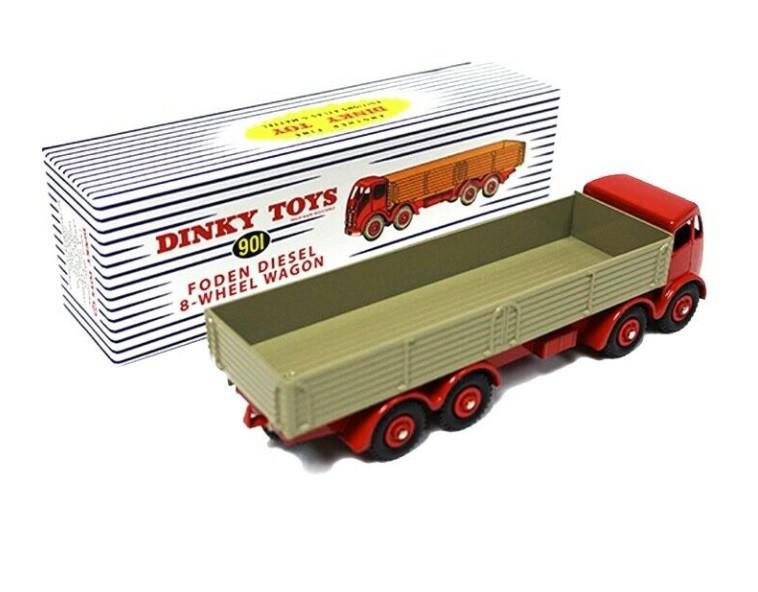 Miniatura Caminhão Foden Diesel 1/43 Dinky Toys