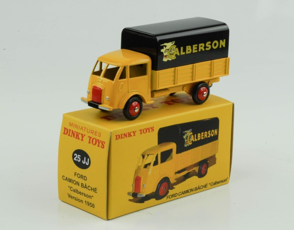 Miniatura Caminhão Ford Bache Calberson 1/43 Dinky Toys