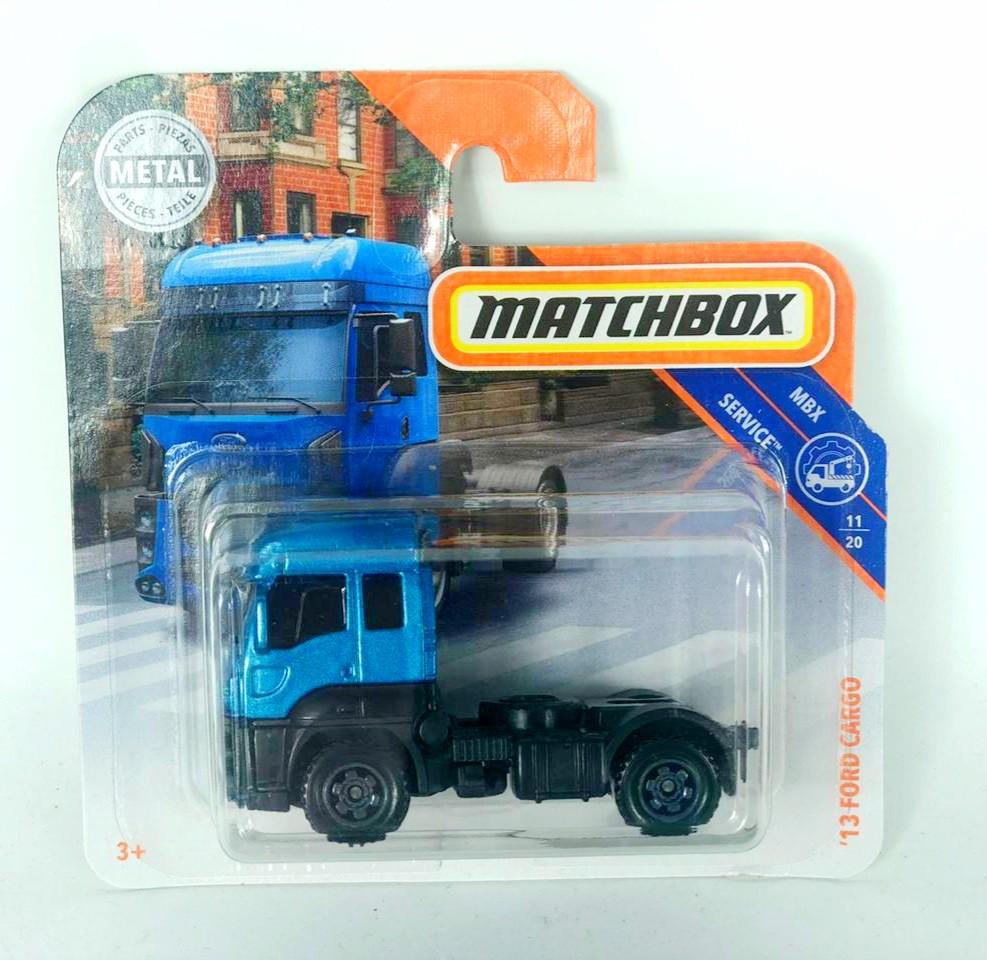 Miniatura Caminhão Ford Cargo 2013 1/64 Matchbox