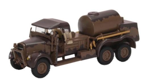 Miniatura Caminhão Ford WOT1 Crash Tender 1/76 Oxford