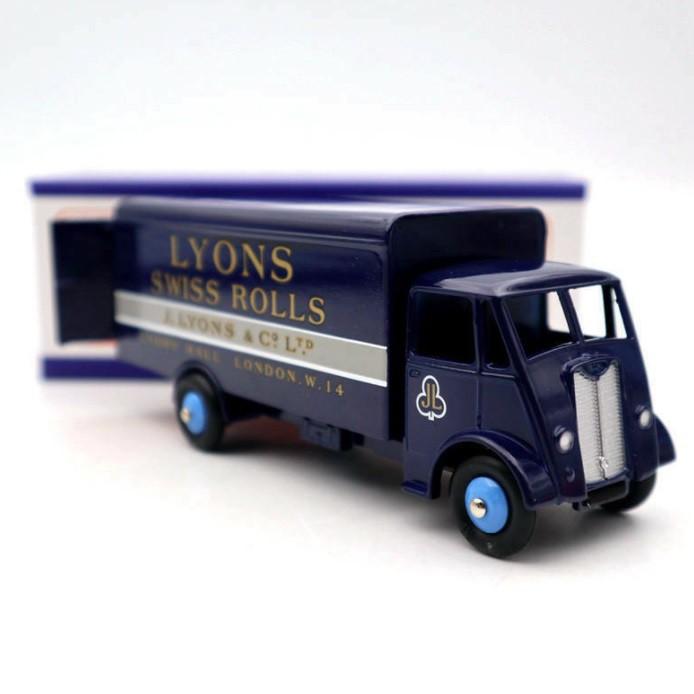 Miniatura Caminhão Guy Van Azul  1/43 Dinky Toys