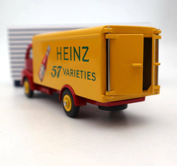 Miniatura Caminhão Guy Van Heinz 1/43 Dinky Toys