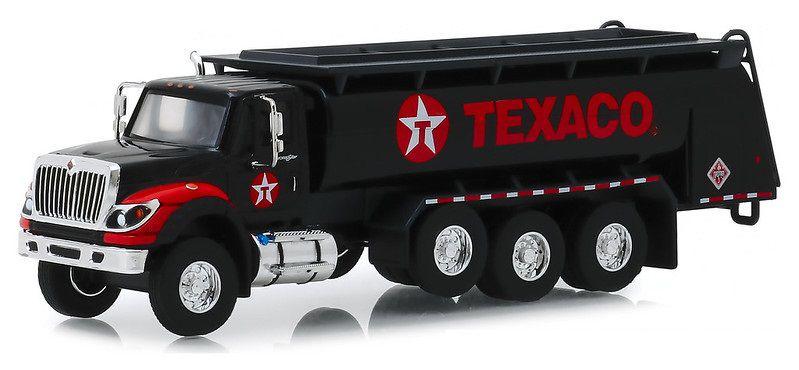 Miniatura Caminhão Internacional 2018 Tanque Texaco SD Trucks 1/64 Greenlight