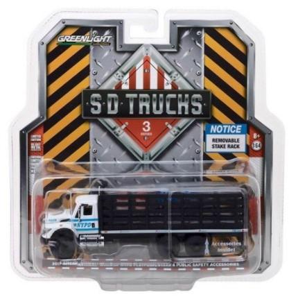 Miniatura Caminhão International 2017 Policia WorkStar SD Trucks 1/64 Greenlight