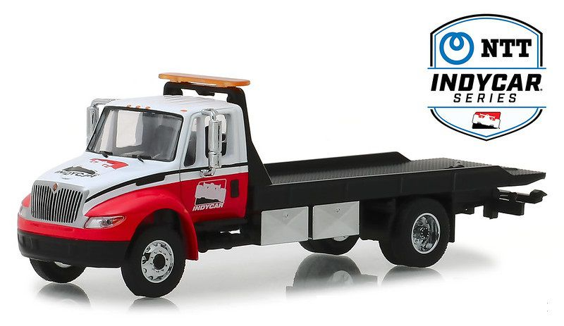 Miniatura Caminhão International 2019 Plataforma Indy 1/64 Greenlight