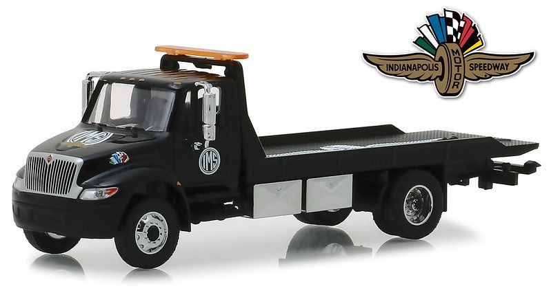 Miniatura Caminhão International Durastar 2019 Indianapolis Guincho 1/64 Greenlight