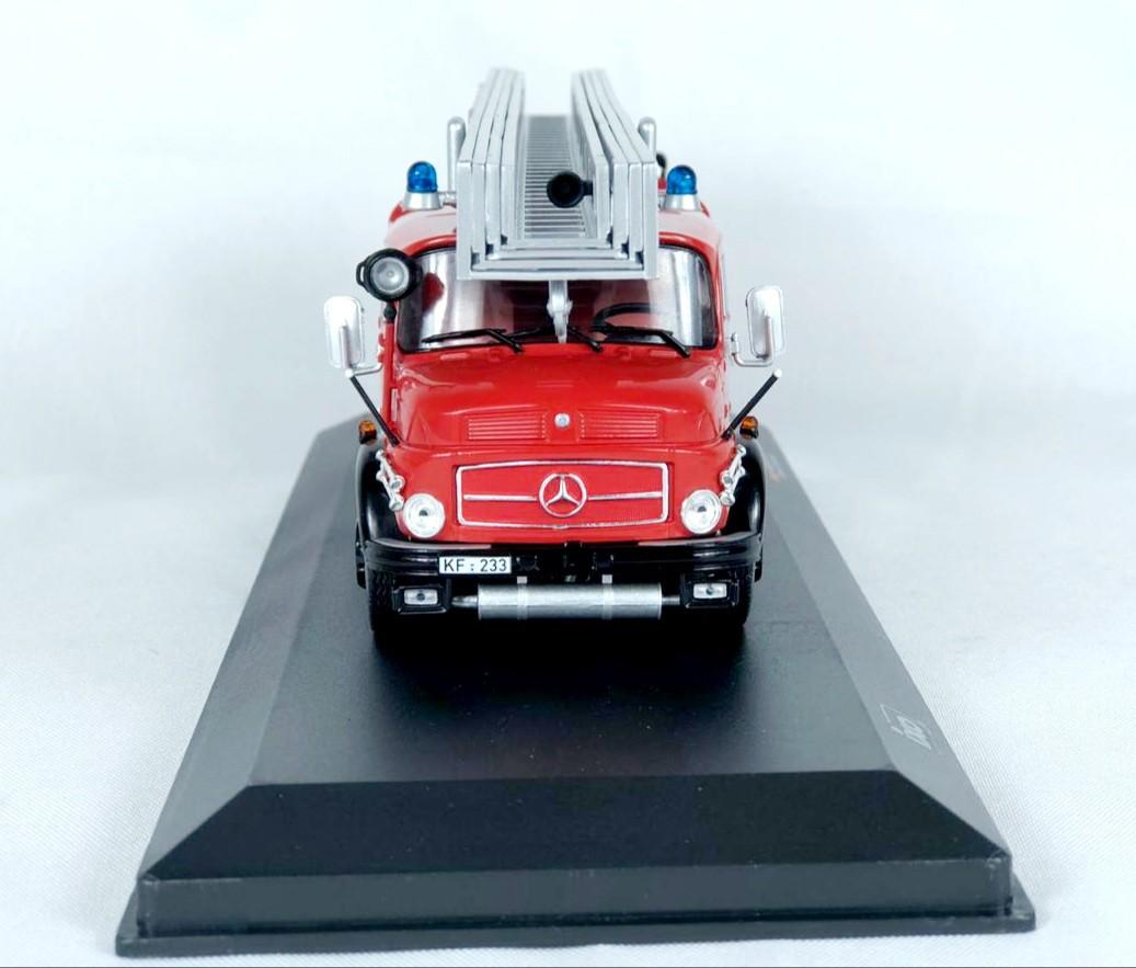 Miniatura Caminhão Mercedes Benz L1519 Bombeiro 1/43 Ixo