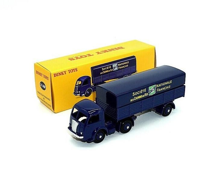 Miniatura Caminhão Panhard ET Semi-Remorque 1/43 Dinky Toys