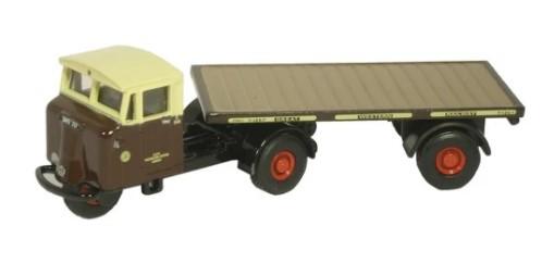 Miniatura Caminhão Prancha GWR Trailer 1/76 Oxford