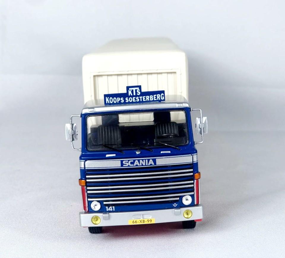 Miniatura Caminhão Scania LBT 141 1976 1/43 Ixo