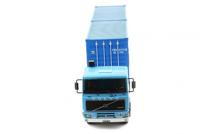 Miniatura Caminhão Volvo F10 1983 1/43 Ixo