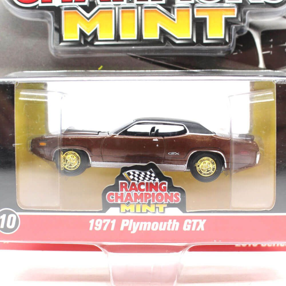 Miniatura CHASE GOLD Plymouth GTX 1971 1/64 Racing Champions