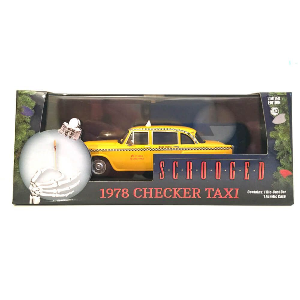 Miniatura Checker Taxi 1978 Scrooged 1/43 Greenlight