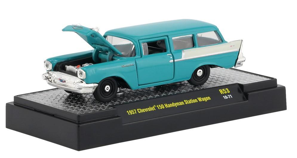 Miniatura Chevrolet 150 Handyman Station Wagon 1957 1/64 M2