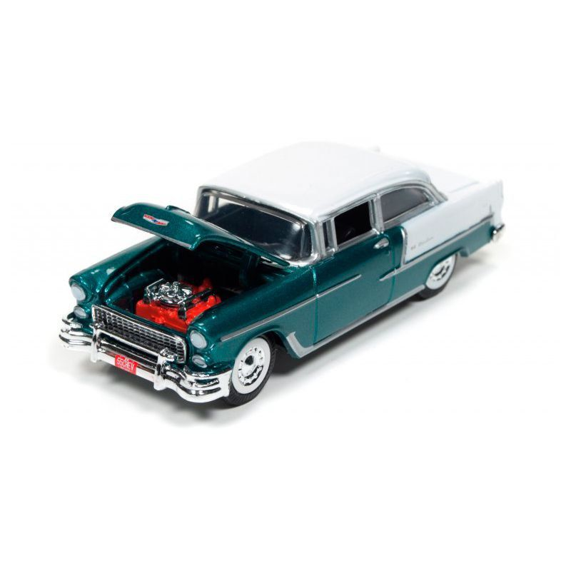 Miniatura Chevrolet Bel Air 1955 1/64 Racing Champions