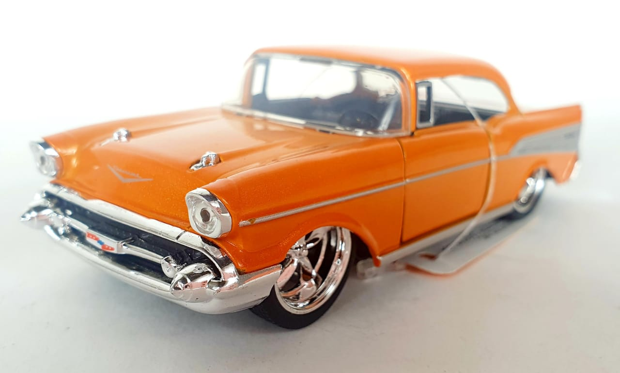 Miniatura Chevrolet Bel Air 1957 1/32 Jada Toys Sem Caixa