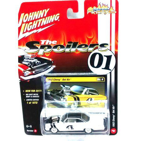 Miniatura Chevrolet Bel Air 1962 The Spoilers 01 A 1/64 Johnny Lightning