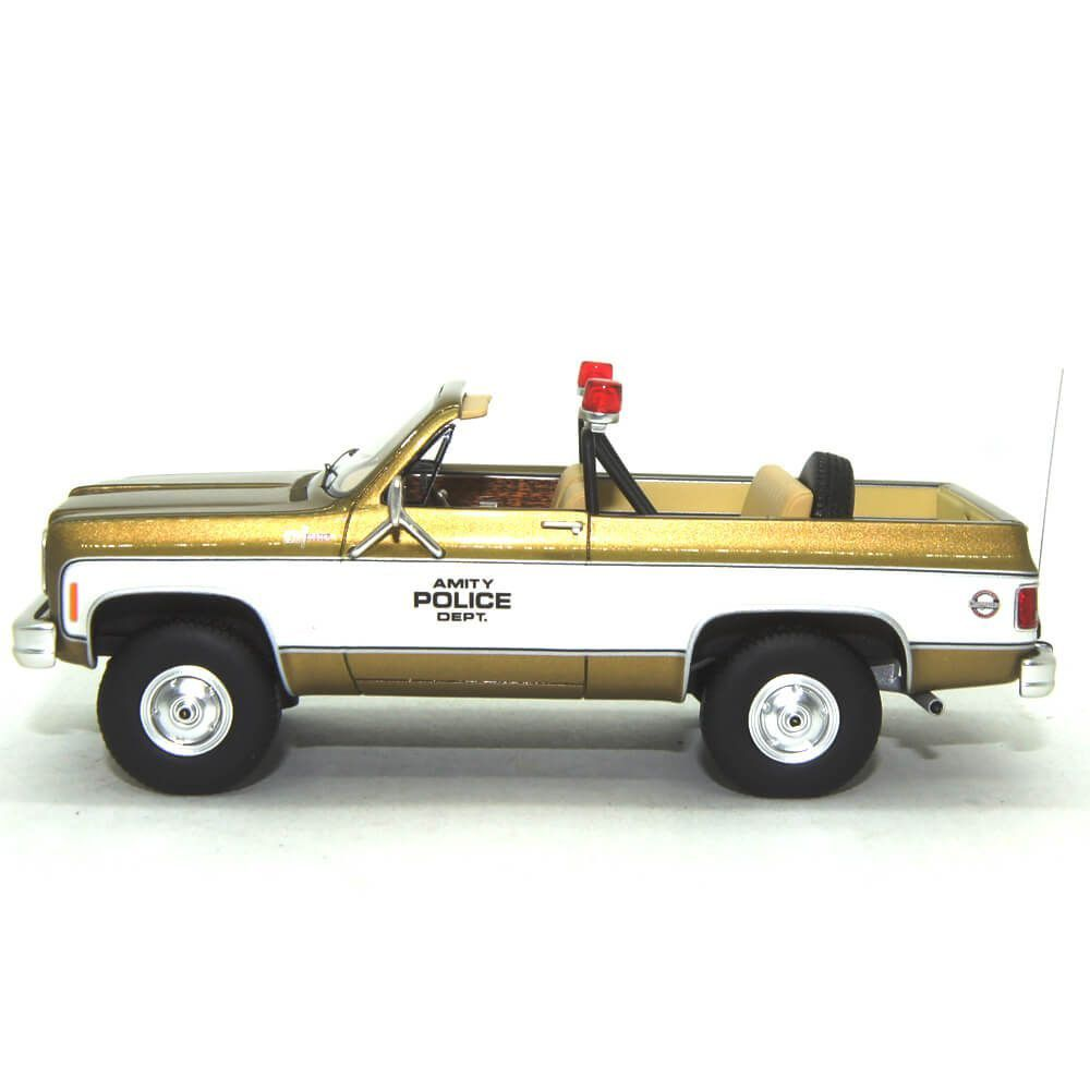 Miniatura Chevrolet Blazer Amity Police Departament 1/43 Schuco