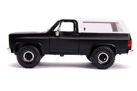 Miniatura Chevrolet Blazer K5 1980 Just Truks 1/24 Jada Toys
