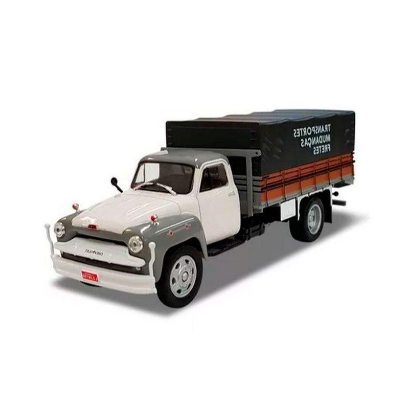 Miniatura Chevrolet Brasil 6500 - Transporte e Mudanças 1/43 Salvat
