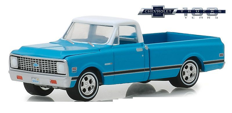 Miniatura Chevrolet C-10 1972 1/64 Greenlight