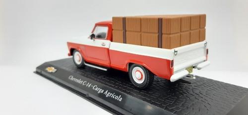 Miniatura Chevrolet C-14 Carga Agrícola 1/43 Salvat