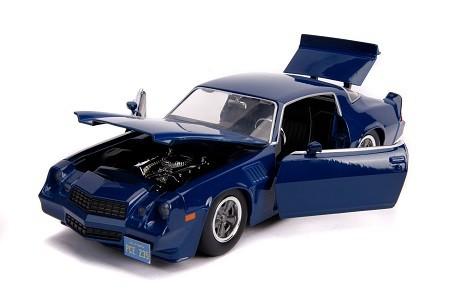 Miniatura Chevrolet Camaro 1979 Z28 Stranger Things 1/24 Jada Toys