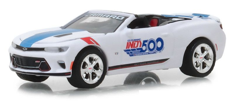 Miniatura Chevrolet Camaro SS 2017 Indy 500 1/64 Greenlight