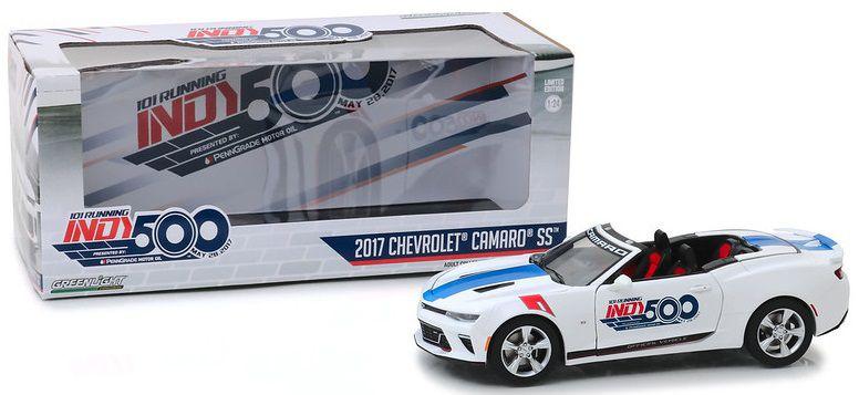 Miniatura Chevrolet Camaro 2017 Indy Car 101 1/24 Greenlight