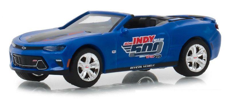 Miniatura Chevrolet Camaro SS 2018 Indy 500 1/64 Greenlight